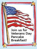 Veterans' Pancake Breakfast