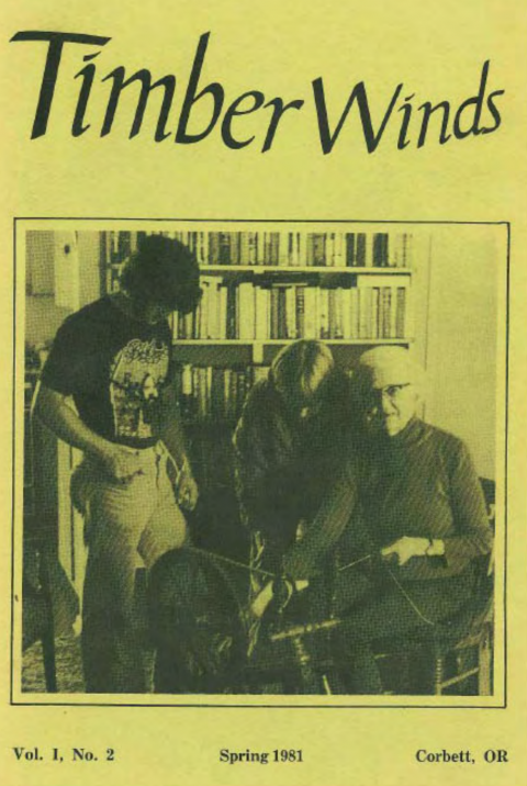 Timber Winds, Volume 1. No. 2