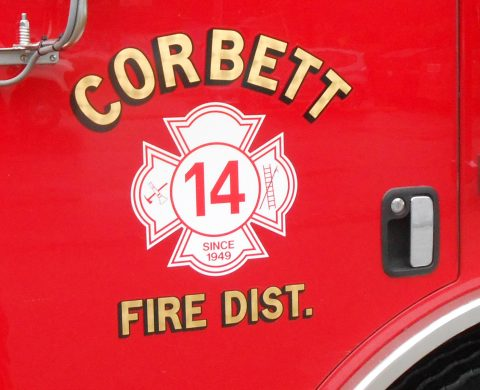 Corbett Fire Press Release