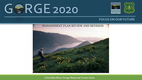 Gorge2020 Management Plan