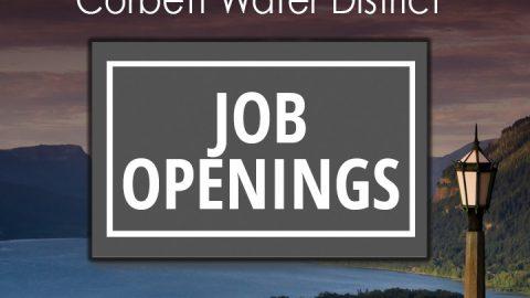 Corbett Water District is Hiring