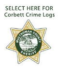 Corbett Crime Logs